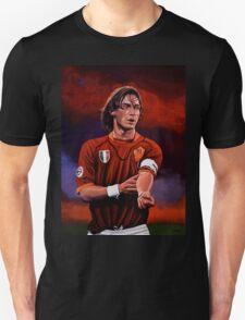 Francesco Totti painting Unisex T-Shirt