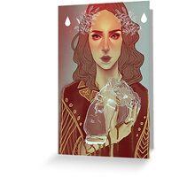 JUDITH X HOLOFERNES Greeting Card