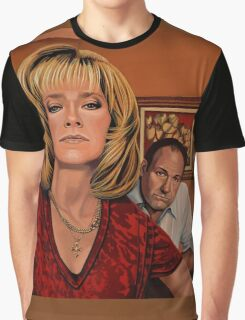 The Sopranos Painting Graphic T-Shirt