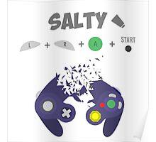 Salty Shirt Poster