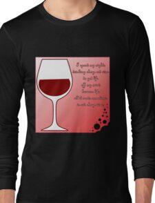 Cheap red wine Long Sleeve T-Shirt