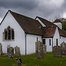 Chalbury Church by Jennifer Bradford
