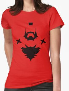 HAIR STYLE ZANGIEF Womens Fitted T-Shirt