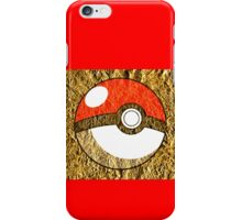 Pokeball Gold Design (T-shirt, Phone Case & more)  iPhone Case/Skin
