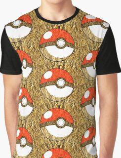 Pokeball Gold Design (T-shirt, Phone Case & more)  Graphic T-Shirt