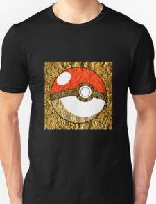Pokeball Gold Design (T-shirt, Phone Case & more)  T-Shirt