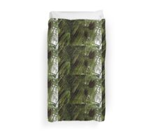 High Key Christmas Greenery With Giant Sugar Pine Cones Duvet Cover
