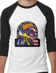 NROL-39 (Topaz) Launch Team Logo Men's Baseball ¾ T-Shirt