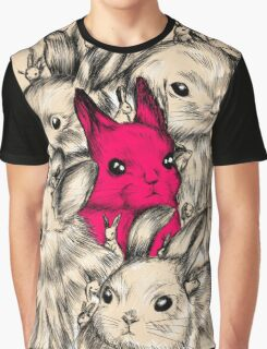 BUNNIES GALORE! Graphic T-Shirt