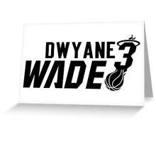 Dwyane Wade 3 Greeting Card