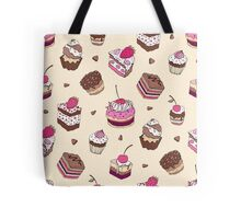 Yummy colorful Cupcakes Tote Bag