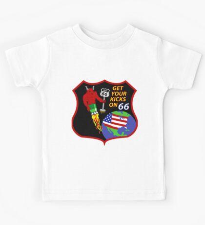 NROL-66 Program Logo Kids Tee
