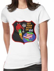 NROL-66 Program Logo Womens Fitted T-Shirt