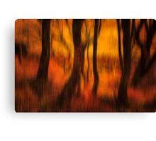 Dusky Memories of Long Forgotten Trees Canvas Print