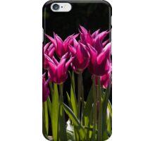 Shouty tulips! iPhone Case/Skin