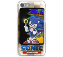 Sonic the hedgehog REMIX iPhone Case/Skin