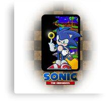 Sonic the hedgehog REMIX Canvas Print