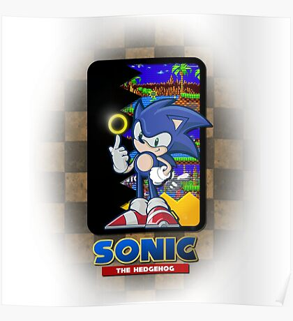 Sonic the hedgehog REMIX Poster