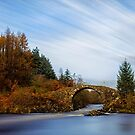 Roman Bridge Over The River Minnoch by derekbeattie