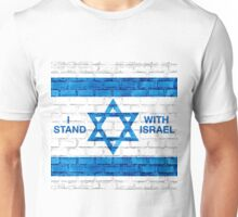 I Stand With Israel! Unisex T-Shirt