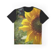 Spring Sunflower Graphic T-Shirt