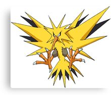 Pokemon - Zapdos Canvas Print