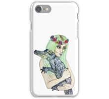 Taking Some Alligators iPhone Case/Skin