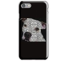 Stone Rock'd Dog by Sharon Cummings iPhone Case/Skin