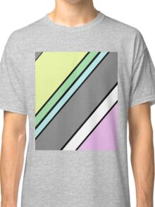Urban Geometry 2 - Colour At 45 Degrees Classic T-Shirt