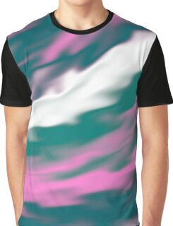 Colorful cold flames abstraction Graphic T-Shirt
