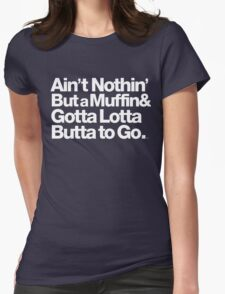 For Prince, It Ain't Nothin' but a Muffin, Ya'll. Womens Fitted T-Shirt