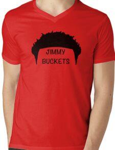 Jimmy Buckets Mens V-Neck T-Shirt