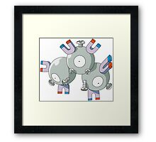 Pokemon - Magneton Framed Print
