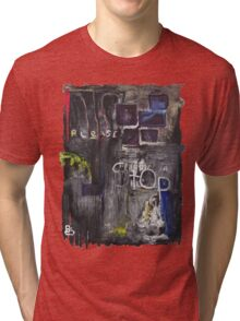 BTC Please Stop T-Shirt Tri-blend T-Shirt