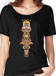 Big Totem (DECK#3) Women's Relaxed Fit T-Shirt