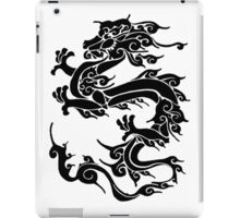 Dragon in black ink iPad Case/Skin