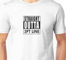 STRAIGHT OUTTA 3PT LINE Unisex T-Shirt