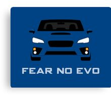 Fear No Evo Canvas Print