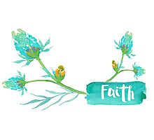 Faith Mugs and Notebook Journals Photographic Print