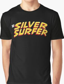 Silver Surfer - Classic Title - Clean Graphic T-Shirt
