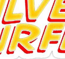 Silver Surfer - Classic Title - Clean Sticker