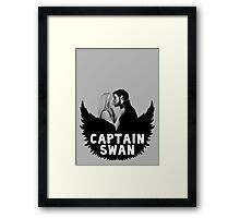 Once Upon a Time - Captain Swan Framed Print