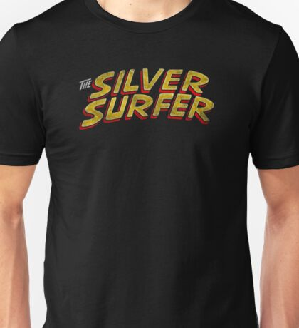 Silver Surfer - Classic Title - Dirty Unisex T-Shirt