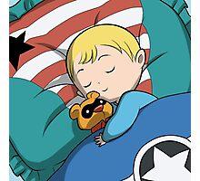 Baby Steve & Bucky Bear Photographic Print