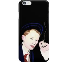 Thom Yorke smoking a cigarette iPhone Case/Skin