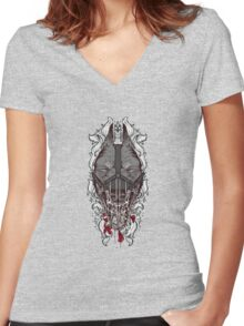 Abstain Women's Fitted V-Neck T-Shirt