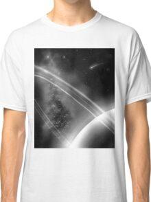 Gray Planet Classic T-Shirt