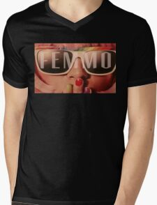 Femmo Mens V-Neck T-Shirt