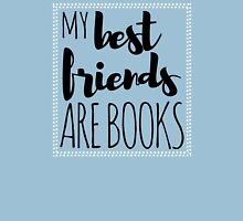 My Best Friends Are Books Womens Fitted T-Shirt