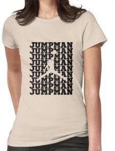 Jumpman Womens Fitted T-Shirt